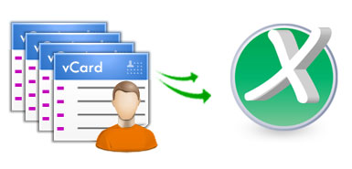 vCard Import to Excel